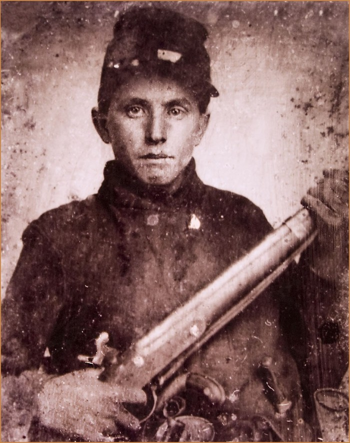 15. Union Soldier from Kenosha in the 1860s.