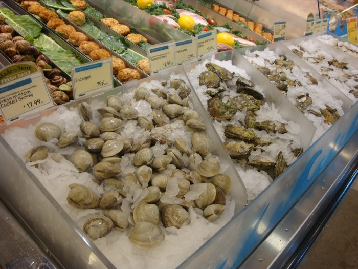 Clam Falls. I think the only clams around are ones you get at the grocery store.