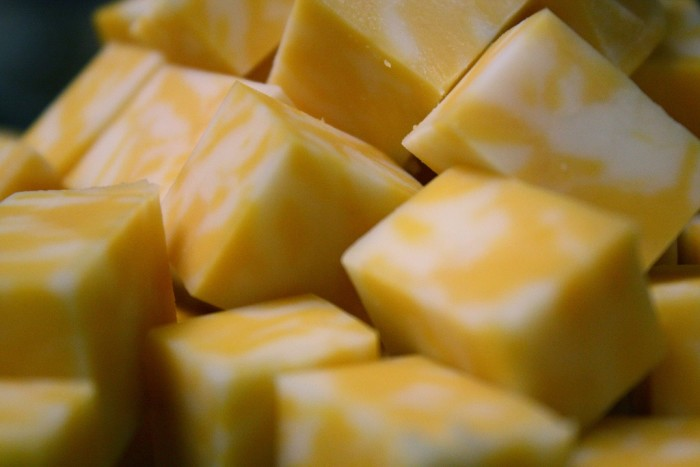 13. Colby cheese! Wisconsin cheese is so good, it deserves two spots on the list!