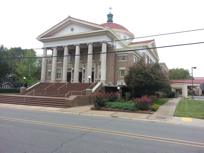 6. First United Methodist Church in Conway: This historic church is at the junction of Prince and Clifton Street in the northwest corner of Conway, Arkansas.