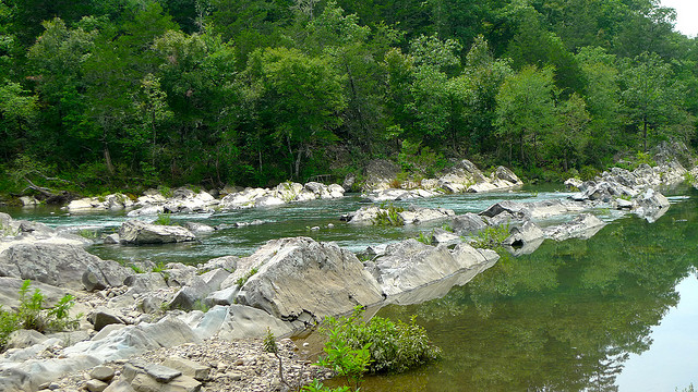 26. Cossatot River: The Cossatot is known for its largely challenging whitewater kayaking but swimmers can have a great workout here as well.