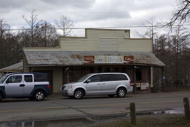 "5. Cotham's Mercantile: This is by and far the most popular ""general store"" in Arkansas. This eatery in Scott occupies an old general store which partially sits on stilts in the rear, overlooking Bearskin Lake."