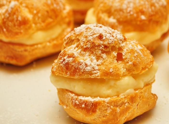 19. Cream puffs. Oh. My. God.