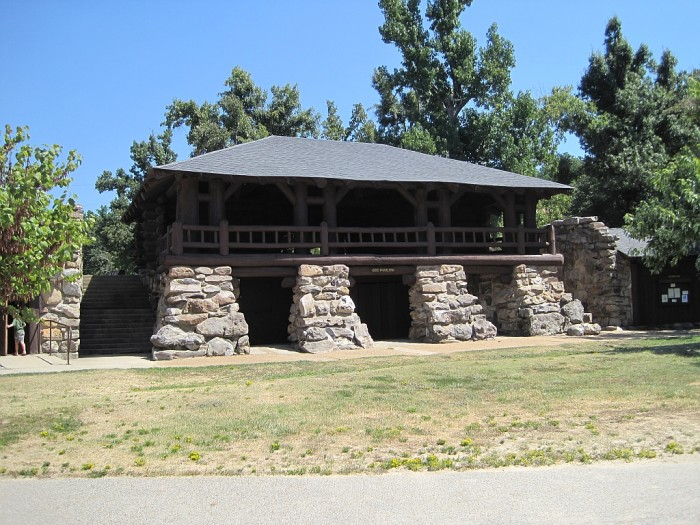 14. Crowley's Ridge Bathhouse: This historic recreational facility is at Crowley's Ridge State Park, located in Greene County, Arkansas.