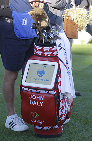 7. John Daly: A professional golfer from Dardanelle, Arkansas, Daly became an overnight celebrity by winning the 1991 PGA Championship. He played golf at Dardanelle High School and the University of Arkansas in Fayetteville before joining the professional circuit.