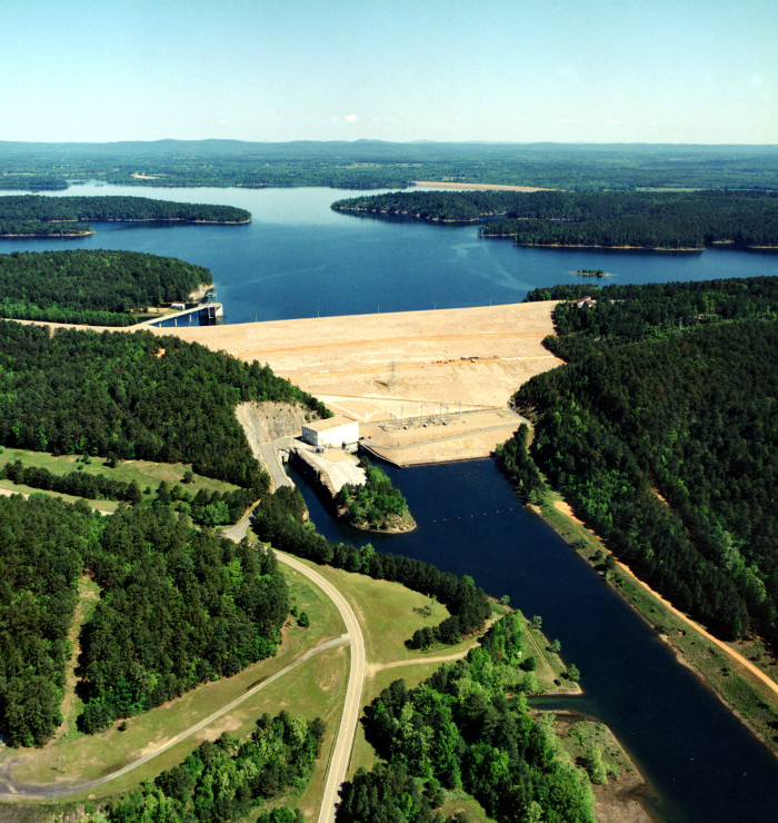 17. DeGray Lake: Approximately 8 miles outside of Arkadelphia, Arkansas,  this  reservoir on the Caddo River offers a huge span of recreational activities and spectacular views.