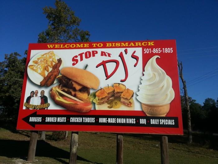 21. DJ's Drive-In, Bismarck on Arkansas Highway 7