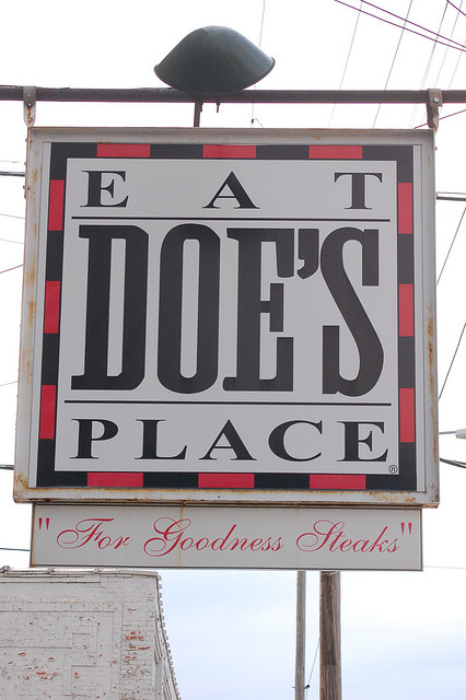 10. Doe's Eat Place in Little Rock: This Little Rock landmark is known for huge steaks and homemade tamales. It gained national attention during the 1992 presidential election campaign.