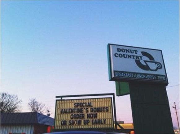 13) Donut Country - Murfreesboro