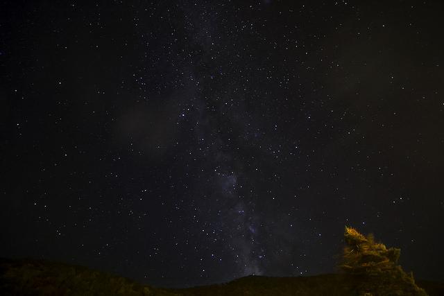 3) This night scene is absolutely stunning in Durbin, West Virginia.