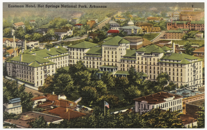 50. Eastman Hotel: Built in 1890, the elegant, 500-room Eastman Hotel was a hub for the baseball community in the early 20th century.
