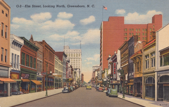 5. Remembering simpler times on Elm Street in Greensboro.