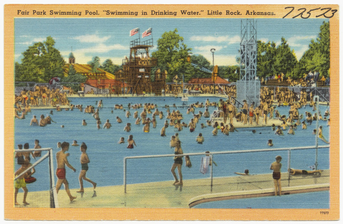 3. Fair Park Swimming Pool: Now known and loved as War Memorial Pool, this location originally known as J. Curran Conway Pool was completed and opened in 1941.