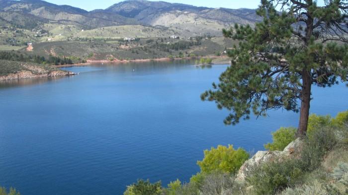 3) Horsetooth Reservoir