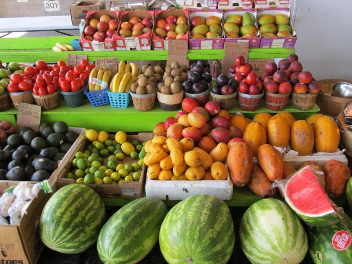 3. We have great agriculture and lots of fresh produce is readily available at stores and farmers markets (or even in your own backyard).