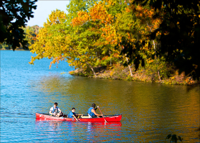 5. Lake Fayetteville: This lake was created by Lake Fayetteville Dam in 1949.