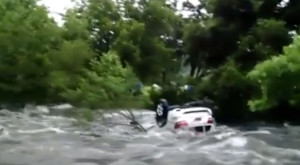 Video Shows Car Getting Swept Away In Deadly Texas Flood