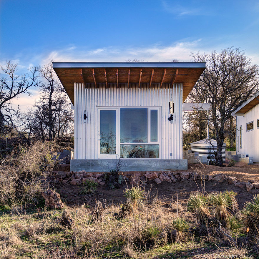 These best friends built a tiny house community in texas for Small home builders texas