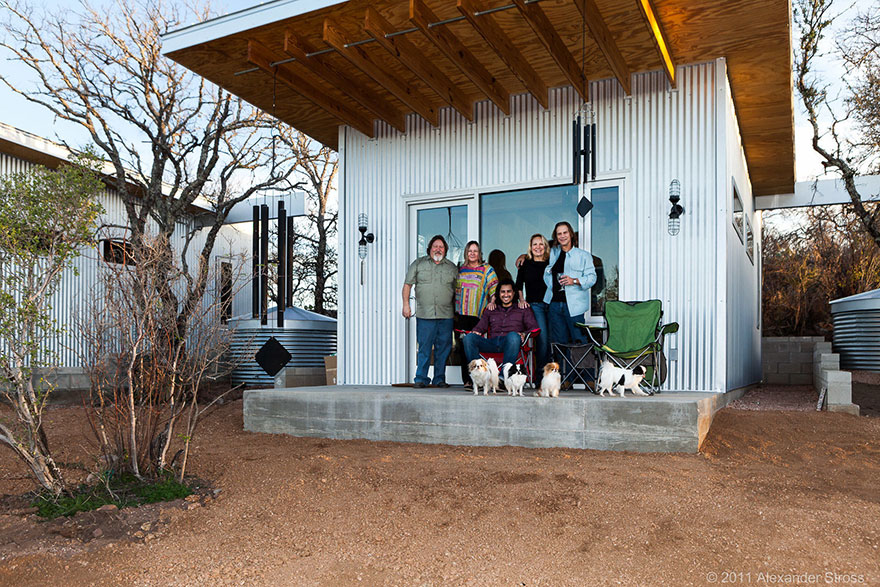 These best friends built a tiny house community in texas for Cost to build a house in texas