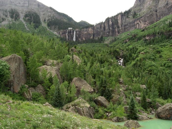 6.) Bridal Veil Falls