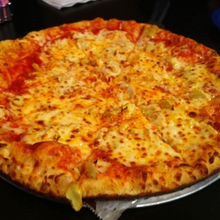 9) Giovanni's Pizza has many locations, but the pizza above is from the Huntington, WV Giovanni's.