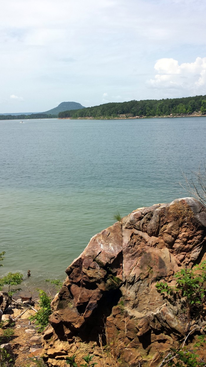 20. Greers Ferry Lake: The reservoir formed by Greers Ferry Dam is also often ranked as one of the top ten clearest, cleanest, and most pristine lakes in all of North America.