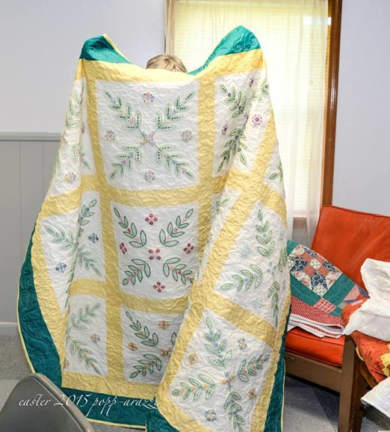 11. Homemade quilts have been keeping Kentuckians warm during chilly winter months for centuries.