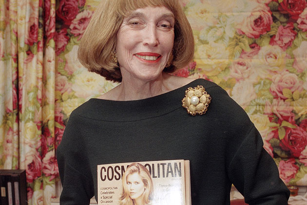 8. Helen Gurley Brown: Born in Green Forest, Arkansas and noted for her exceptional writing skills, Brown put a distinct on the definition of modern women in American society. She served as editor-in-chief of Cosmopolitan magazine for 32 years.
