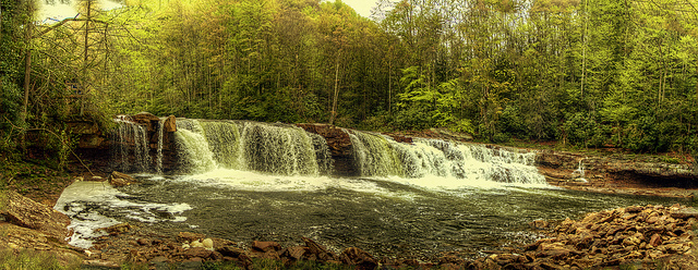 8) The High Falls on the Cheat River are magnificent. This photo doesn't even do them justice.