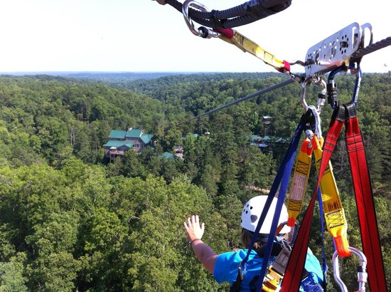 14. Ziplining in Banning Milles Lodge in Carroll County, 205 Horseshoe Dam Rd, Whitesburg, GA 30185