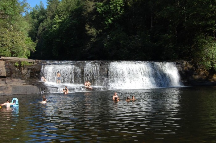 15 north carolina swimming holes to take a dip in - Camping near me with swimming pool ...