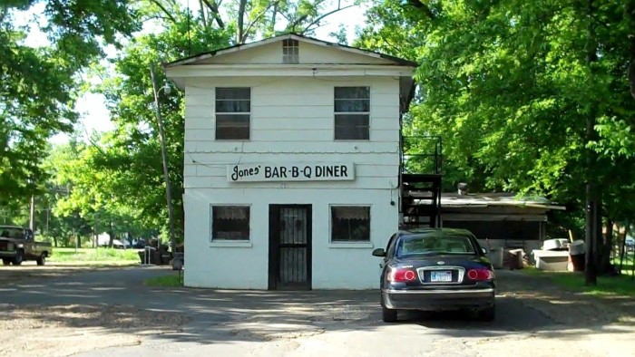 8. Jones Bar-B-Q: Located in Marianna, Arkansas, this is a neighborhood barbecue joint that has been in business for over 100 years.