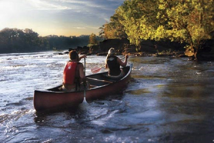8. Go kayaking down the Coosa River.
