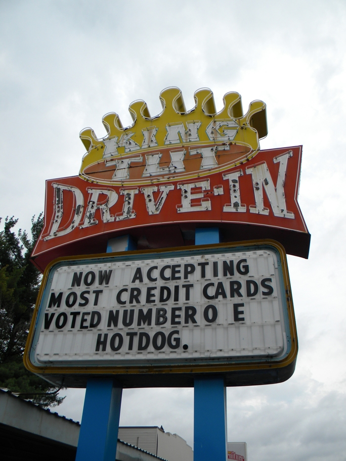 11) King Tut Drive-In at Beckley, WV.