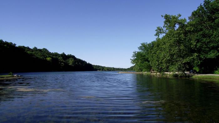 2. Lake Atalanta - This lake is located in Rogers, Arkansas.