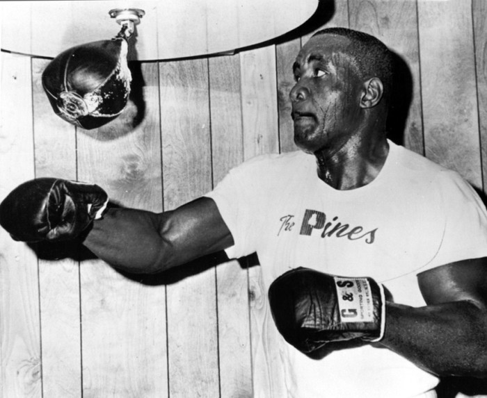 "8. Charles ""Sonny"" Liston: Nicknamed ""the Bear"" for his massive physique, Liston was born in the small St. Francis County, Arkansas community of Sand Slough. Liston won the world heavyweight boxing championship by knocking out Floyd Patterson in the first round on September 25, 1962."