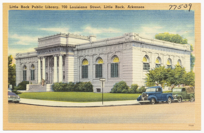 16. Little Rock Public Library: This library was opened on February 1, 1910, at West 7th Street and South Louisiana Street in downtown Little Rock.