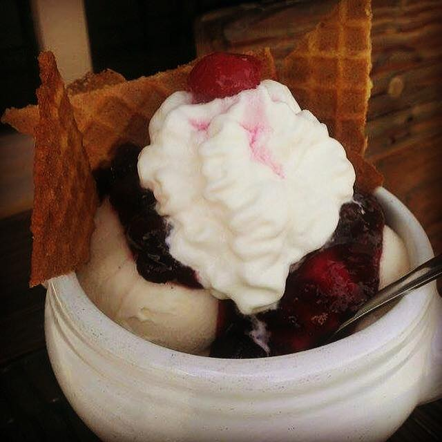 5. Loblolly Creamery: The blueberry waffle cone sundae is a scrumptious specialty at this Little Rock food truck.