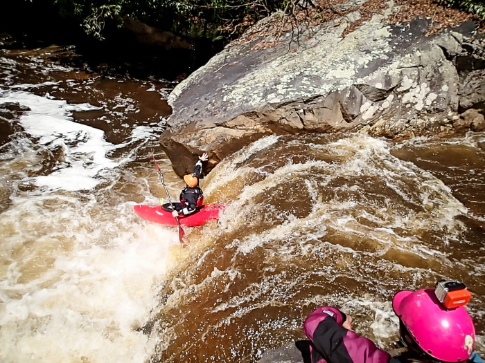 The Tygart is a 10-mile long river that has some amazing rapids ranging from Class I to V.
