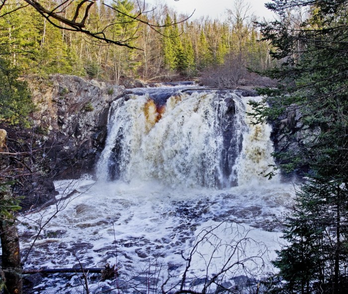 7. Little Manitou Falls is located in Superior and drops 30 feet.