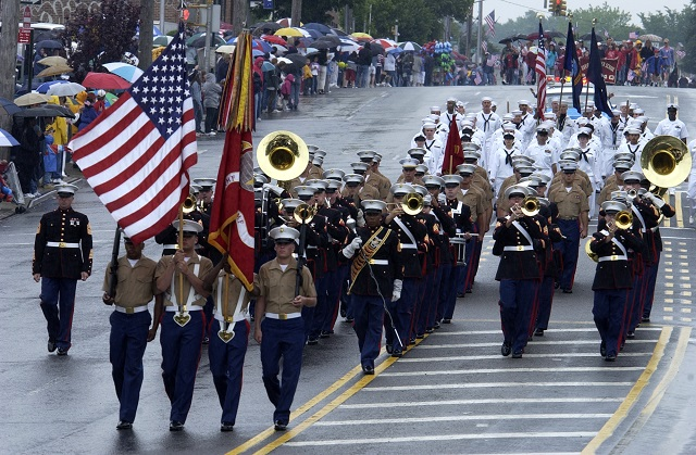 6. Attend a Memorial Day parade.
