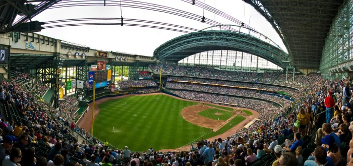 10. Come watch the Brewers at Miller Park (Monday, 1:10 PM)