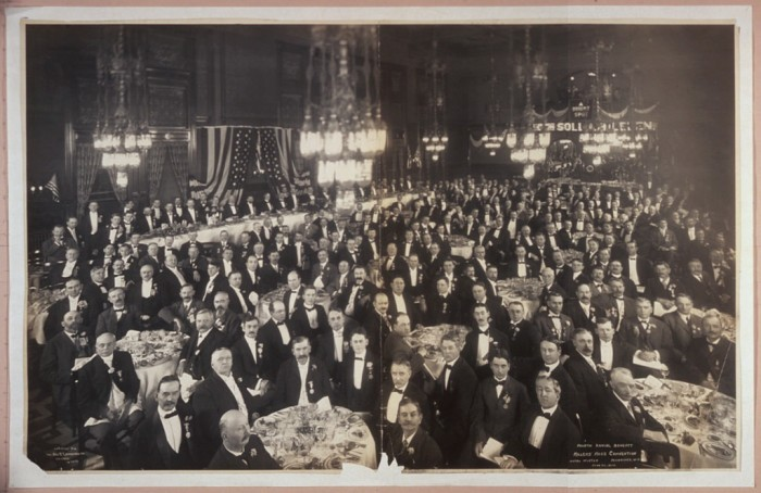 9. Enjoying the Millers' Mass Convention in Milwaukee, Wisconsin circa 1906.