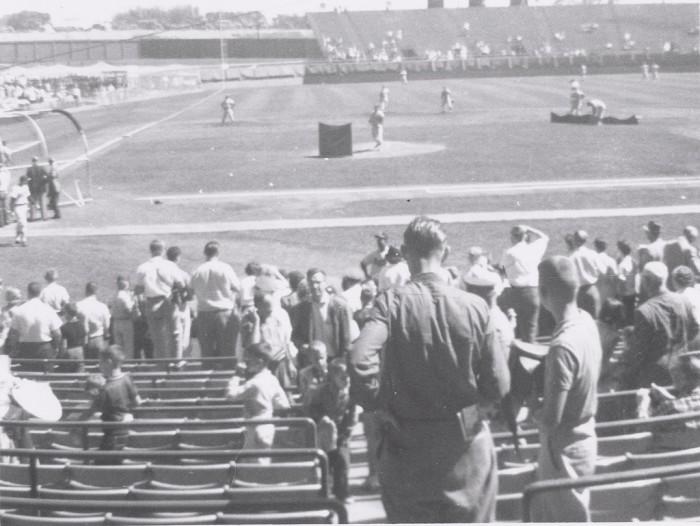 10. Milwaukee County Stadium back in 1960.