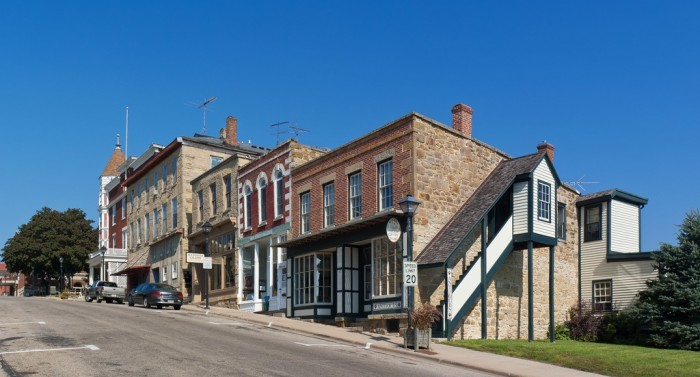 7. Mineral Point is an old town built by Cornish miners back in the 19th Century. Eat some figgyhobbin. Get your fill of beautiful turn of the century architecture. Soak up the starry sky at night.