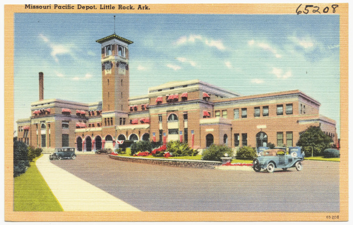 """20. Missouri Pacific Depot: This depot opened in 1921 and is also referred to as """"Union Station""""."""