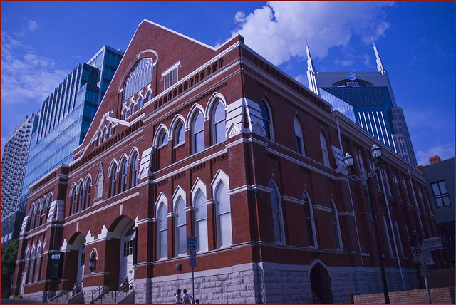 """8) We're home to the Ryman Auditorium - the """"Mother Church"""""""