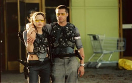 12.) Mr. and Mrs. Smith (2005)