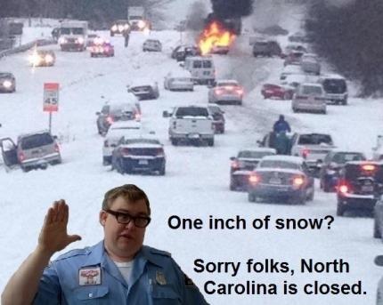 4. The snow joke