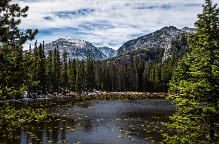 11) Nymph, Dream, & Emerald Lakes